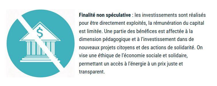 Charte EP spéculation